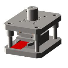 Штамп вырубной для пробивки отверстий  (изготовление под заказ)