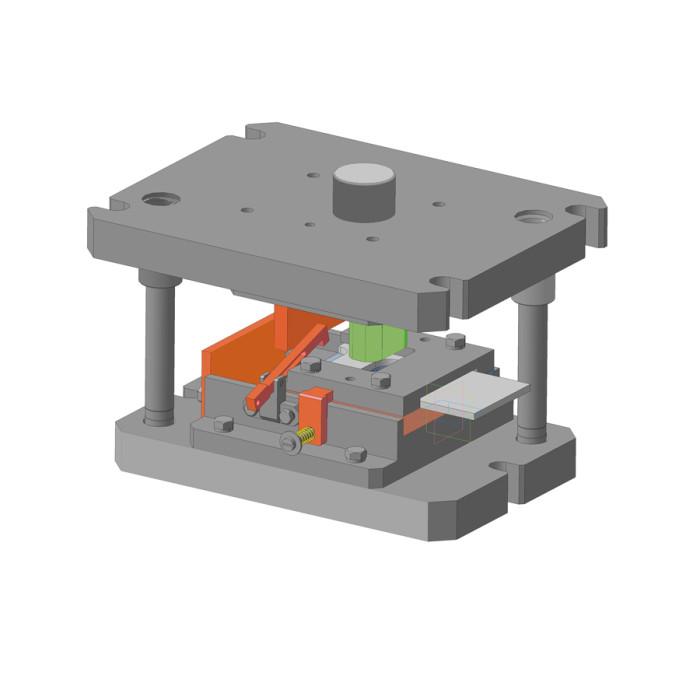 Штамп вирубний для виробів з металу