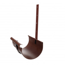 Кронштейн желоба металлический коричневый  Ø130 мм