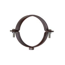 Хомут для труб 90 мм, коричневый